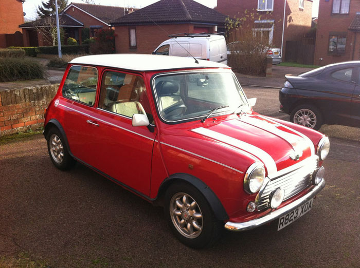 1998 red mini cooper immaculate condition 3