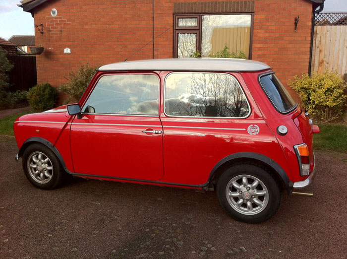 1998 red mini cooper immaculate condition 4