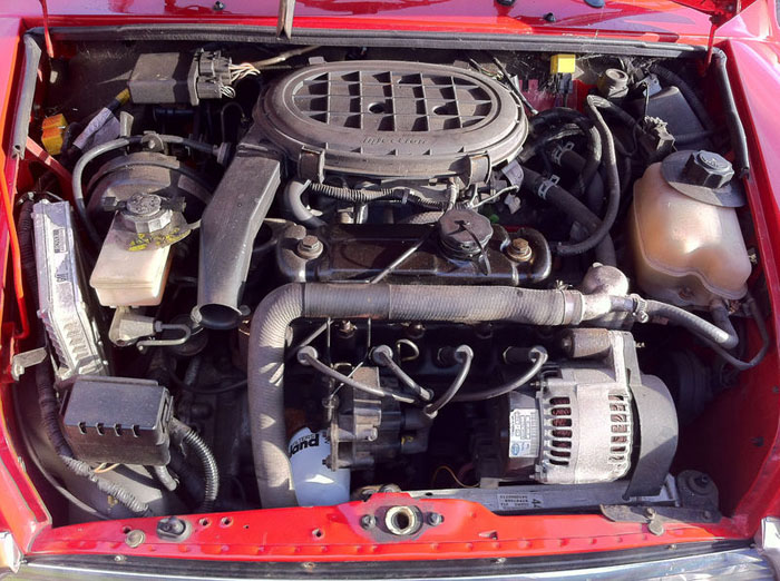 1998 red mini cooper immaculate condition engine bay