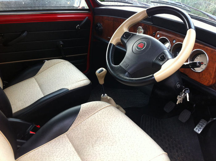 1998 red mini cooper immaculate condition interior