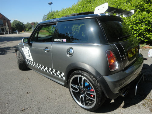 2002 unique jcw tony franks converted mini cooper s 3
