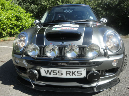 2002 unique jcw tony franks converted mini cooper s front