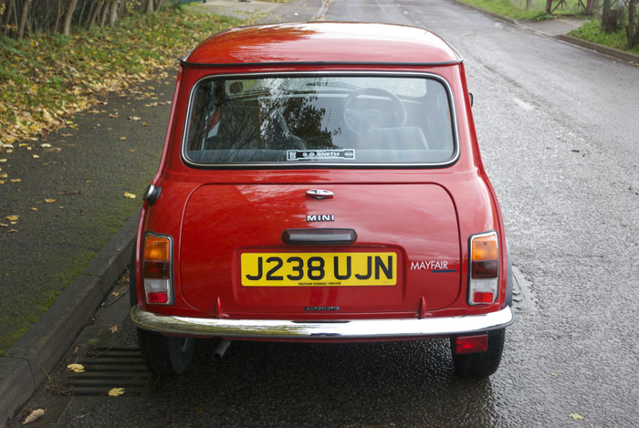 1991 Mini Mayfair 998cc Back