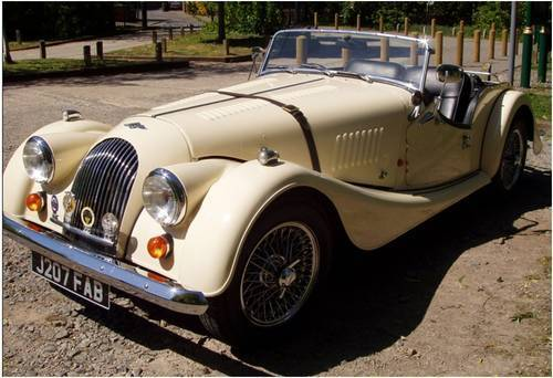 1992 morgan 4 4 2 seater ivory pearl 1