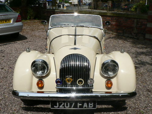 1992 morgan 4 4 2 seater ivory pearl 2