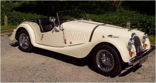 1992 morgan 4 4 2 seater ivory pearl 3