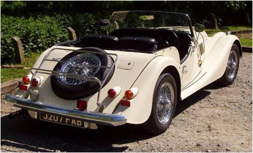 1992 morgan 4 4 2 seater ivory pearl 4