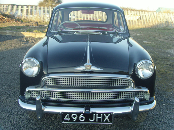 1956 Morris Isis Series 1 Deluxe Front