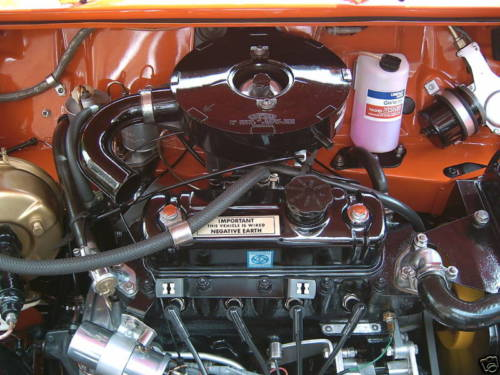 1973 morris mini 1275gt engine