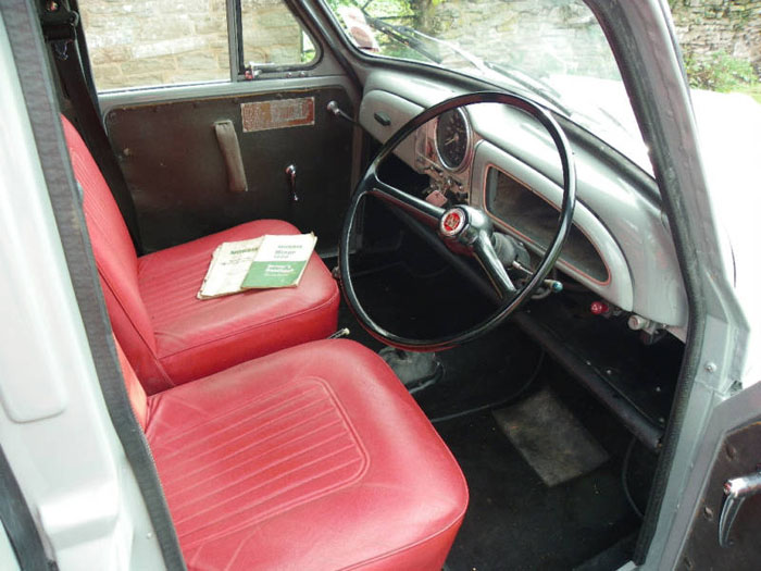 1967 morris minor van interior 1