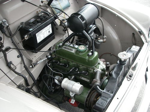 1956 Morris Minoir Series ll Engine Bay