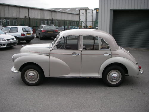 1956 Morris Minoir Series ll Left Side