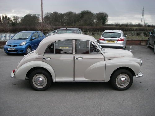1956 Morris Minoir Series ll Right Side