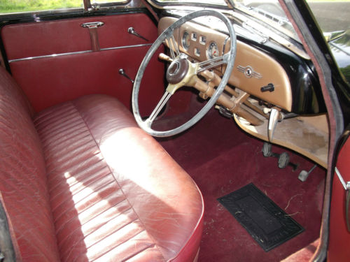 1954 Morris Oxford MO Interior