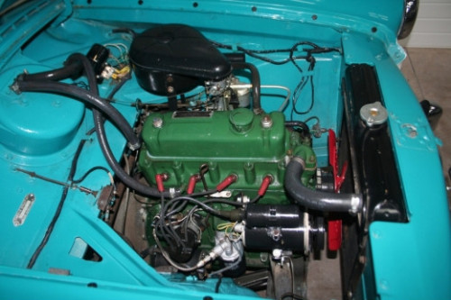 1957 nash metropolitan engine bay 2