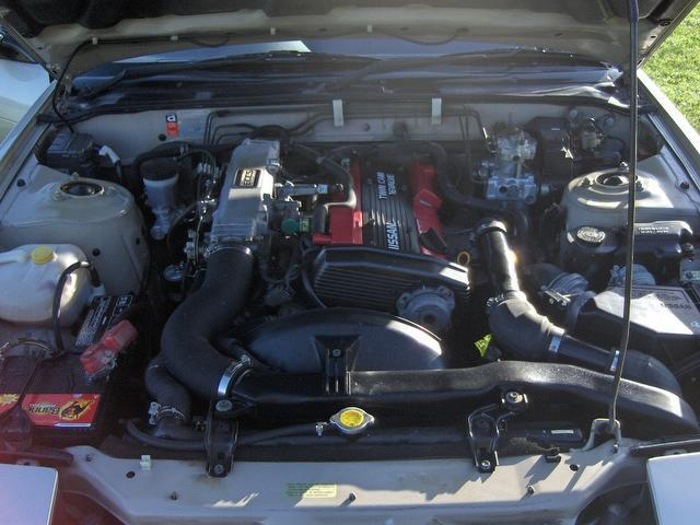 1990 Nissan 200SX Engine Bay