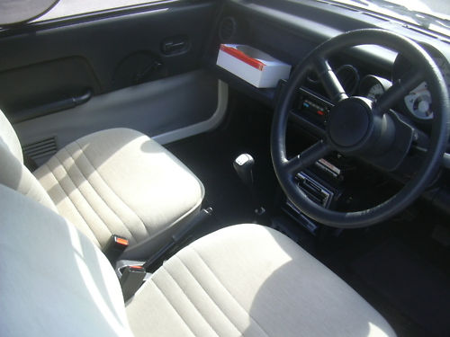 1988 nissan be - 1 interior