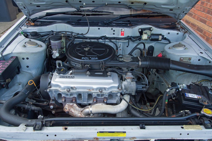 1990 Nissan Bluebird 1.6 Premium Engine Bay