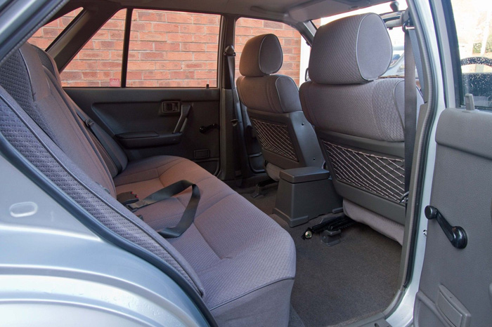 1990 Nissan Bluebird 1.6 Premium Rear Interior