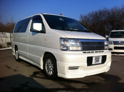 1998 nissan elgrand homy highway star mpv diesel automatic 1