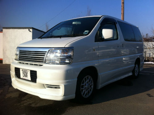 1998 nissan elgrand homy highway star mpv diesel automatic 2