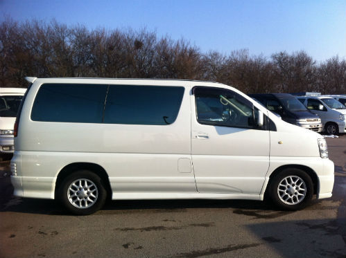 1998 nissan elgrand homy highway star mpv diesel automatic 3