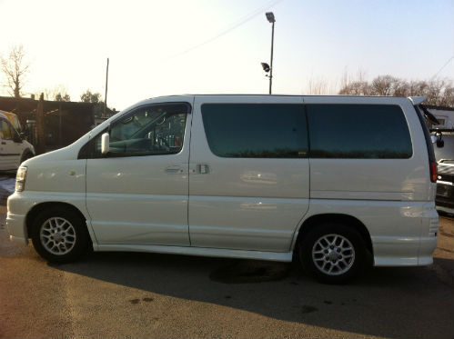 1998 nissan elgrand homy highway star mpv diesel automatic 4