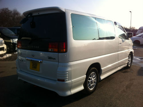 1998 nissan elgrand homy highway star mpv diesel automatic 5