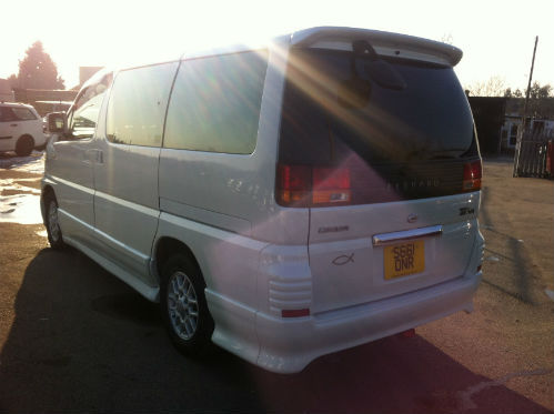 1998 nissan elgrand homy highway star mpv diesel automatic 6