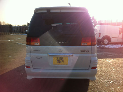 1998 nissan elgrand homy highway star mpv diesel automatic back