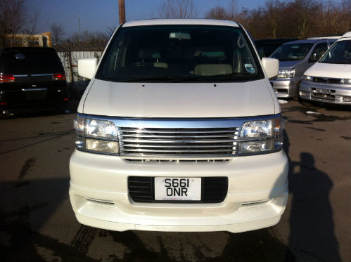 1998 nissan elgrand homy highway star mpv diesel automatic front