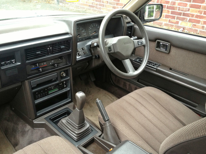 1988 Nissan Laurel C32 2.4 SGX Dashboard Steering Wheel