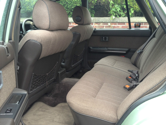 1988 Nissan Laurel C32 2.4 SGX Rear Interior