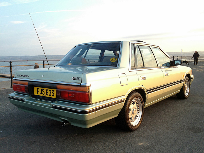1988 Nissan Laurel C32 2.4 SGX Rear