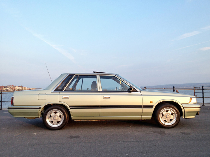 1988 Nissan Laurel C32 2.4 SGX Side