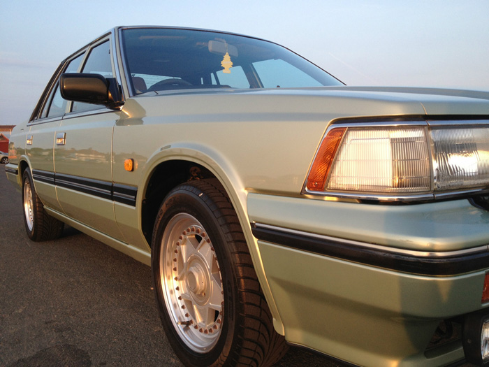 1988 Nissan Laurel C32 2.4 SGX Wheel Arch