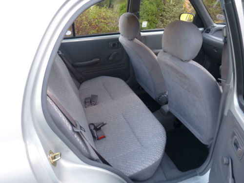 1994 Nissan Micra K11 1.0 Wave Rear Interior