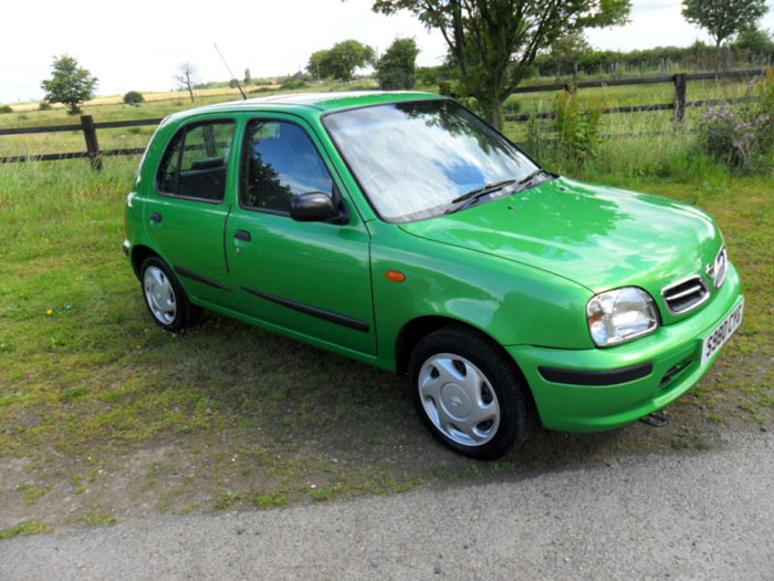 featured cars nissan micra 1998 nissan micra gx auto green ref 370. Black Bedroom Furniture Sets. Home Design Ideas