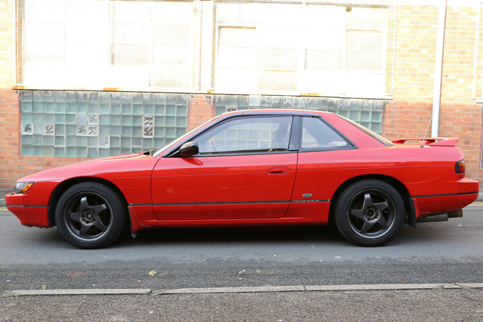1990 Nissan Silvia PS13 Qs Side