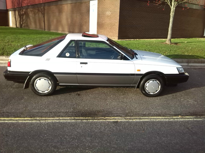 1987 Nissan Sunny 1.6 SLX Coupe Right Side