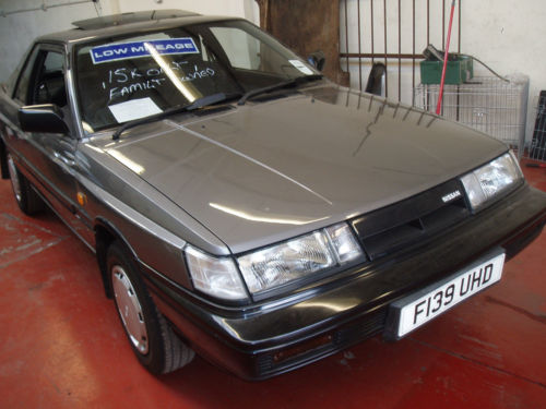 1988 nissan sunny coupe grey 3