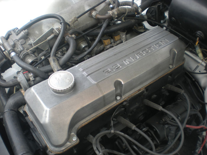 1978 Opel Kadett GTE C Coupe Engine