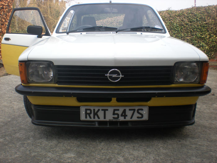 1978 Opel Kadett GTE C Coupe Front