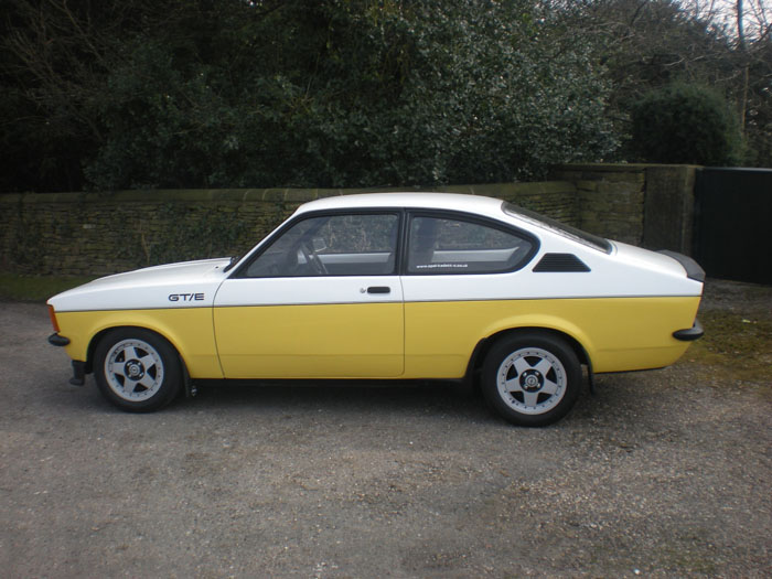 1978 Opel Kadett GTE C Coupe Side