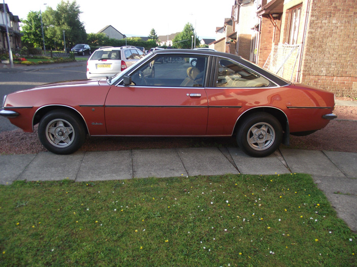 1980 Opel Manta 2.0 SR Berlinetta Coupe Left Side