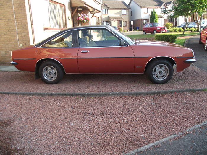1980 Opel Manta 2.0 SR Berlinetta Coupe Right Side