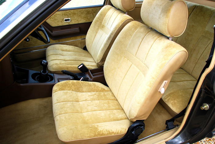 1981 Opel Monza 3.0E S Series 1.5 Front Seats