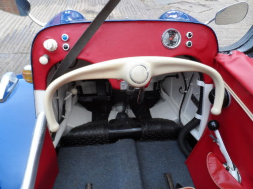 1959 Messerschmitt KR200 Cabriolet Interior Dashboard