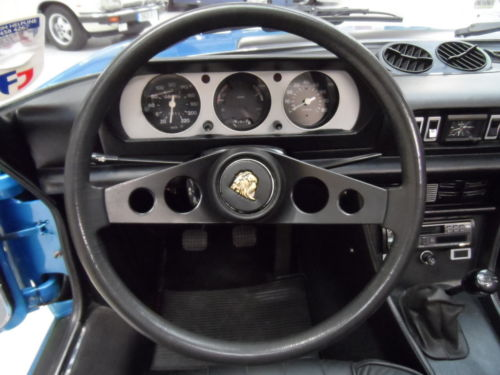 1975 Peugeot 504 V6 Cabriolet Steering Wheel Dashboard