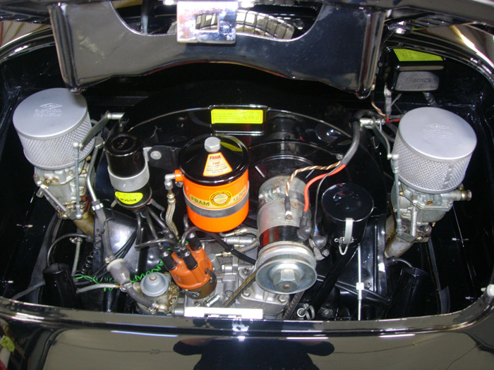 1957 Porsche Speedster Engine Bay 1